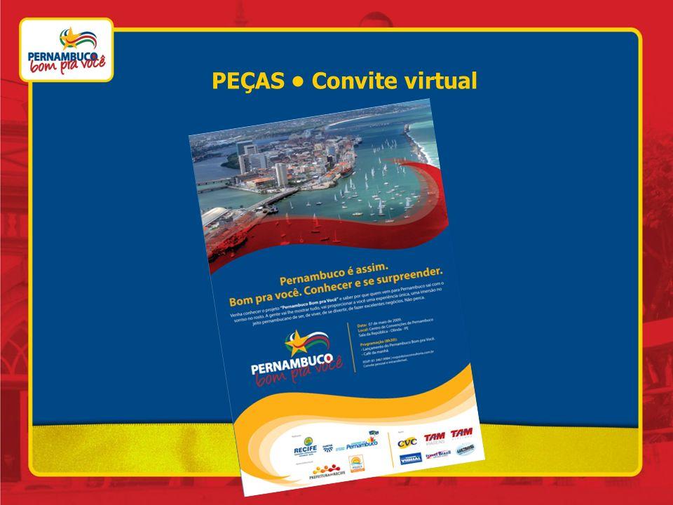 PEÇAS Convite virtual