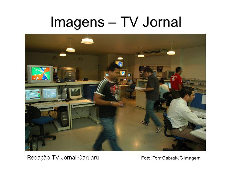 Imagens – TV Jornal Redação TV Jornal Caruaru Foto: Tom Cabral/JC Imagem