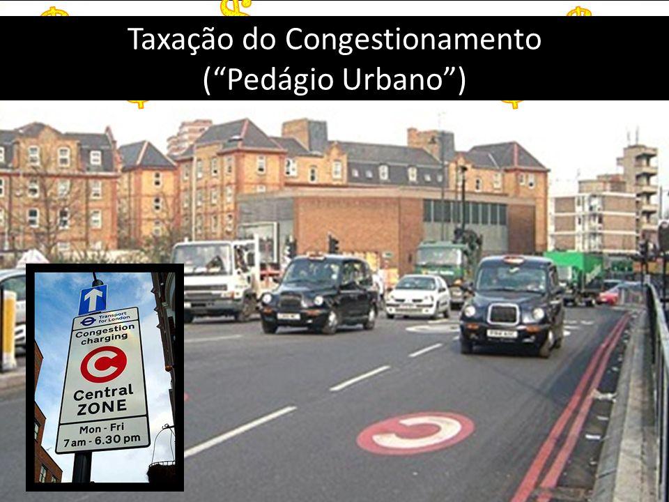 Taxação do Congestionamento (Pedágio Urbano)