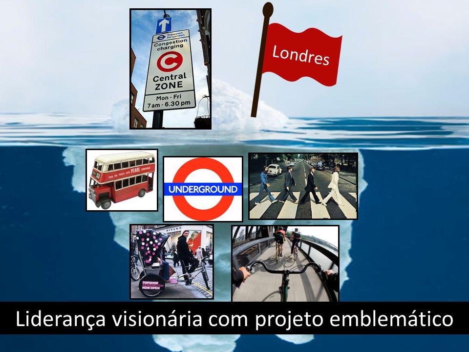 Londres Liderança visionária com projeto emblemático