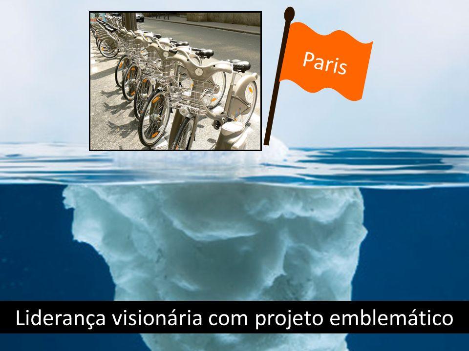 Liderança visionária com projeto emblemático Paris