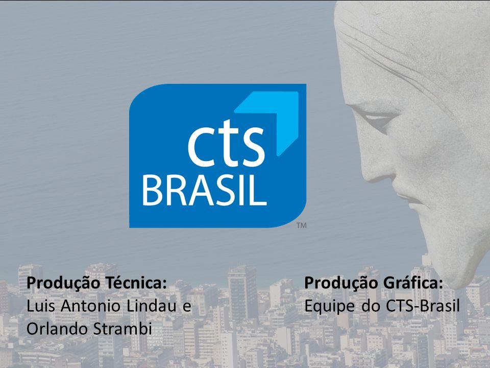 Produção Técnica: Luis Antonio Lindau e Orlando Strambi Produção Gráfica: Equipe do CTS-Brasil