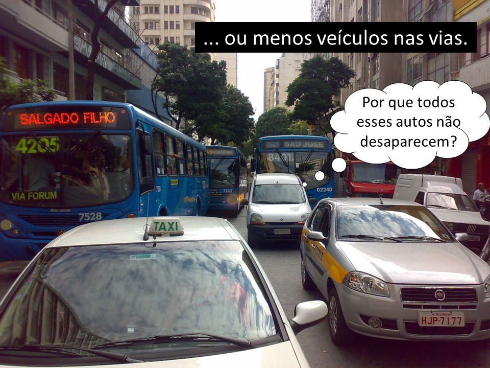 Transporte molda as cidades