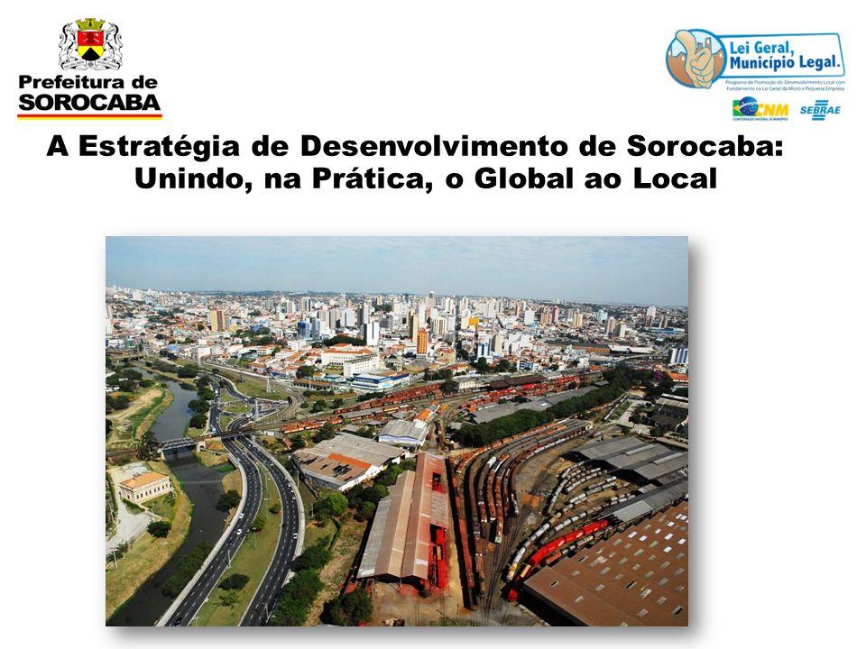 A Estratégia de Desenvolvimento de Sorocaba: Unindo, na Prática, o Global ao Local