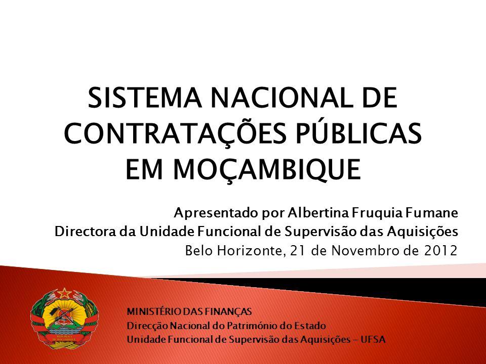 Catálogo de Bens e Serviços (CBS) 22/10/2012 - Foi assinado um Memorando de Entendimento para o estabelecimento de intercâmbio e cooperação na área de gestão de Finanças públicas, entre o Ministério das Finanças de Moçambique e a Secretária de Estado de Planejamento e Gestão de Minas Gerais.