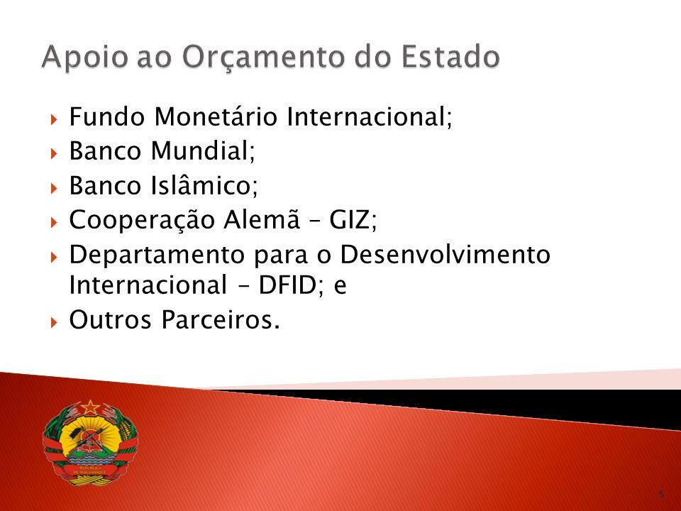 6 Sistema Nacional de Contratação Pública: 2002 - Sistema de Administração Financeira do Estado (SISTAFE), aprovação da Lei nº 09/2001, de 12 de Fevereiro.
