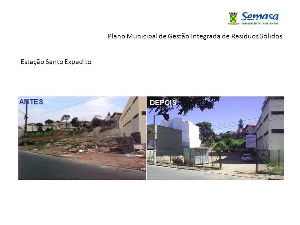 Plano Municipal de Gestão Integrada de Resíduos Sólidos Estação Santo Expedito