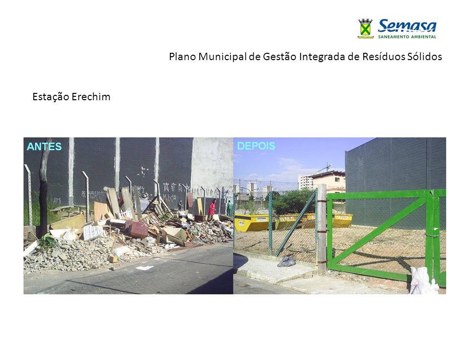 Plano Municipal de Gestão Integrada de Resíduos Sólidos Estação Erechim