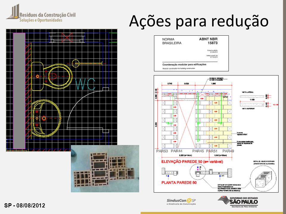 SP - 08/08/2012 Ações para redução