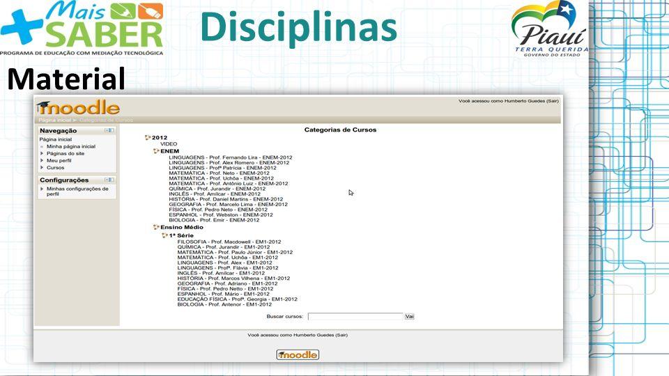 Disciplinas Material