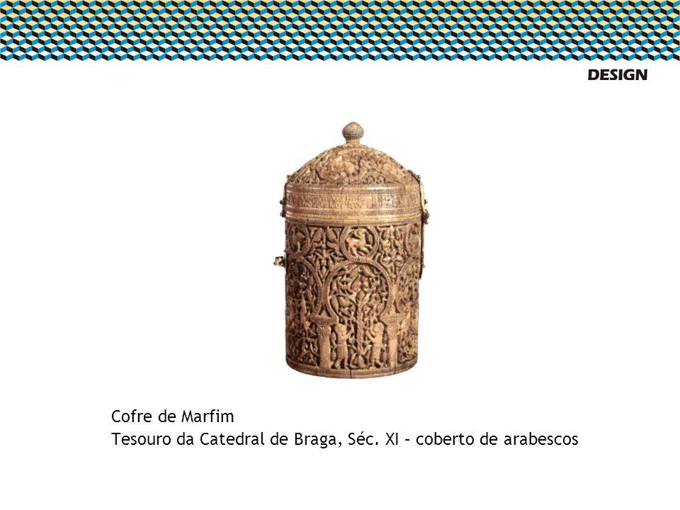 Cofre de Marfim Tesouro da Catedral de Braga, Séc. XI – coberto de arabescos