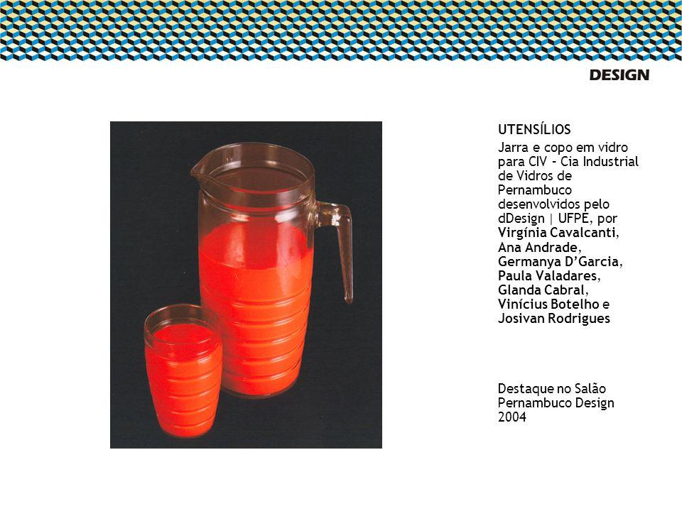 UTENSÍLIOS Jarra e copo em vidro para CIV – Cia Industrial de Vidros de Pernambuco desenvolvidos pelo dDesign | UFPE, por Virgínia Cavalcanti, Ana And