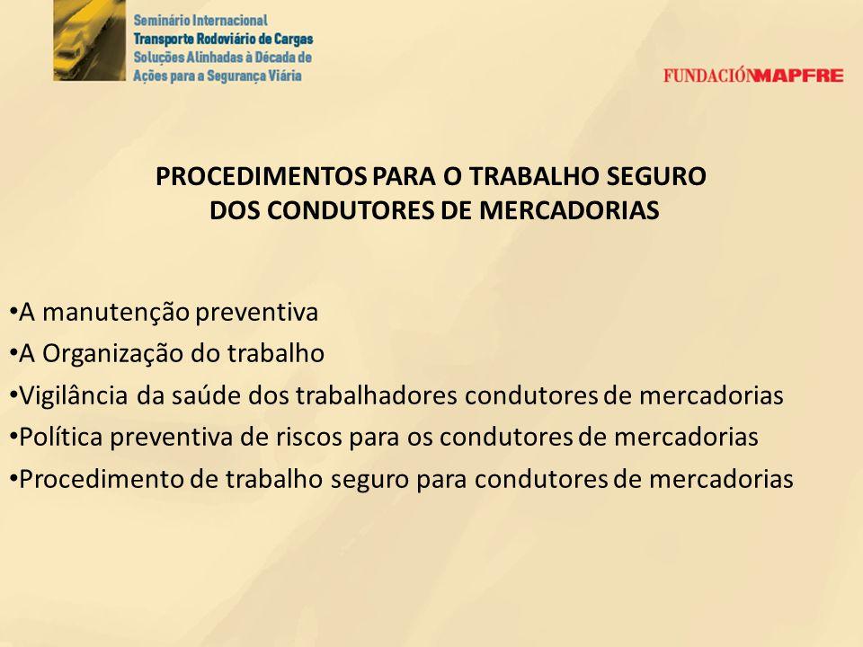 PESQUISA Vítimas de acidentes de trânsito: fonte DATASUS (Ministério da Saúde) 1.Ocupantes de caminhões 2.Ocupantes de caminhonetes 3.Não ocupantes de veículos de carga envolvidos em acidentes com ônibus e caminhões (pedestres, ciclistas, motociclistas, ocupantes de triciclos e de automóveis) Frotas de veículos no Brasil: fonte SINDIPEÇAS 1.Frota de caminhões 2.Frota de caminhonetes 3.Frota de veículos