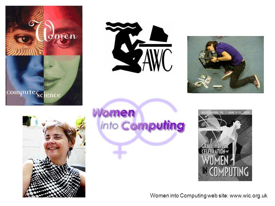 Women into Computing web site: www.wic.org.uk