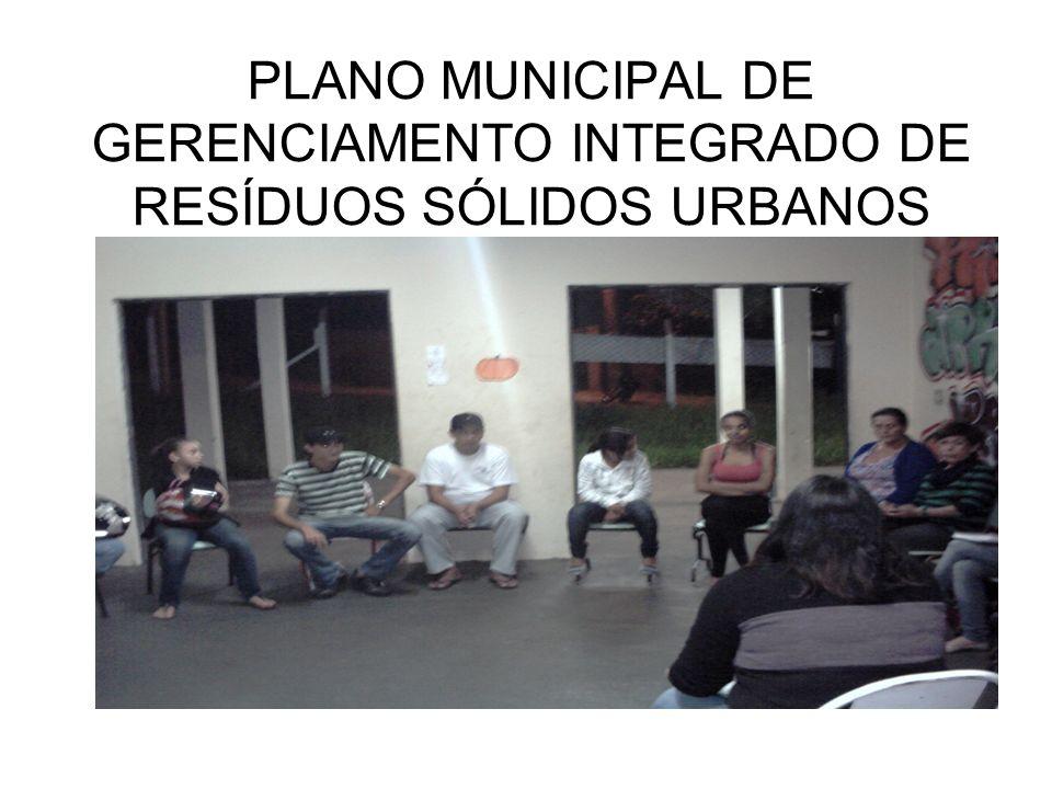 PLANO MUNICIPAL DE GERENCIAMENTO INTEGRADO DE RESÍDUOS SÓLIDOS URBANOS