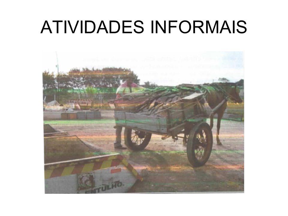 ATIVIDADES INFORMAIS
