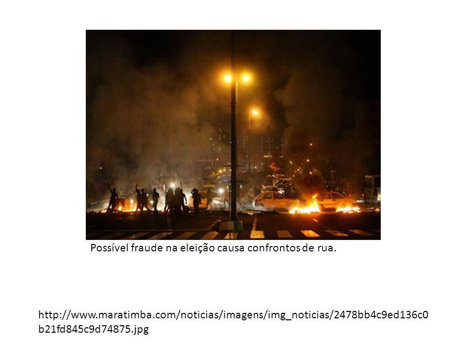 http://www.maratimba.com/noticias/imagens/img_noticias/2478bb4c9ed136c0 b21fd845c9d74875.jpg Possível fraude na eleição causa confrontos de rua.