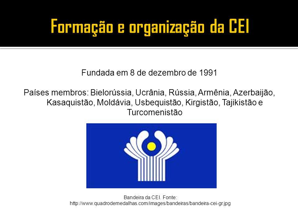 Fundada em 8 de dezembro de 1991 Países membros: Bielorússia, Ucrânia, Rússia, Armênia, Azerbaijão, Kasaquistão, Moldávia, Usbequistão, Kirgistão, Taj