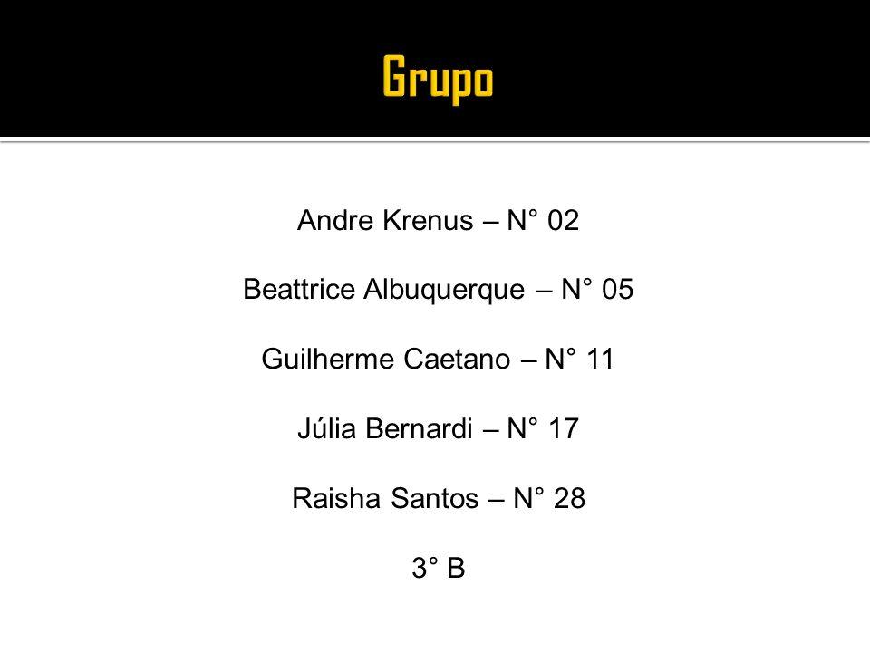 Andre Krenus – N° 02 Beattrice Albuquerque – N° 05 Guilherme Caetano – N° 11 Júlia Bernardi – N° 17 Raisha Santos – N° 28 3° B