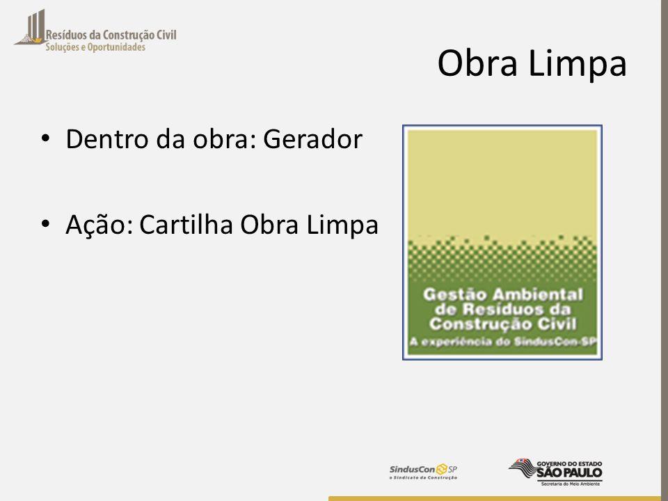 Responsabilidade Compartilhada Plano Integrado de Gerenciamento de Resíduos: Criação do GTRS: Geradores, Transportadores e Poder Público;