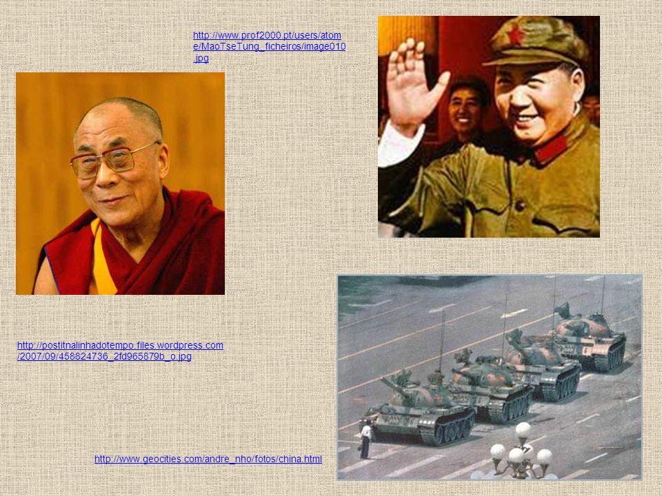 Questões Étnicas - Em 1912, os tibetanos conseguiram expulsar os chineses e declarar sua autonomia; - Em 1913, numa conferência realizada em Shimla ( Índia), britânicos, tibetanos e chineses decidiram dividir o Tibete: uma parte seria anexada à China e outra se manteria autônoma.