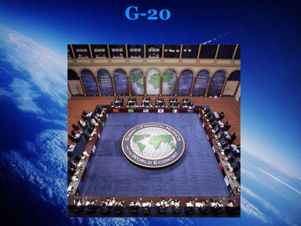 Bibliografia http://pt.wikipedia.org/wiki/G20_%28pa%C3%ADses_em_desenvolvimento%29 http://diplomatizzando.blogspot.com/2009/04/1060-o-brasil-e-o-g20-financeiro.html http://www.topnews.in/files/g20_map.gif http://www.austrade.gov.au/images/UserUploadedImages/1438/austrade-g20-graph.jpg http://www.ruvr.ru/files/Image/portuguese_service/081114123743_bv2u9ovc0_g20- members-that-will-be-taking-part-in-the-financb.jpg -http://empauta.org/2009/04/04/130-g-20-mais-dinheiro-para-tapar-o-buraco/ http://sanssoleil.files.wordpress.com/2009/04/g20.jpg http://pictures.directnews.co.uk/liveimages/G20_700_19103985_0_0_7021526_300.jpg http://www.ruvr.ru/files/Image/portuguese_service/g20_1.jpg http://www.luizberto.com/wp-content/lnts.jpghttp://www.luizberto.com/wp-content/lnts.jpg - http://www.rnnoticias.com.br/SPN/bancoimagem/Mundo/lula-boneco http://www.rnnoticias.com.br/SPN/bancoimagem/Mundo/lula-boneco http://www.abril.com.br/noticias/economia/lideres-g20-devem-triplicar-recursos- disponiveis-ao-fmi-340206.shtml http://www.gerenciamentoeconomico.com.br/economia/g-20-uma-nova-esperanca/ Revista da Semana, edição 82, 9 de abril de 2009.