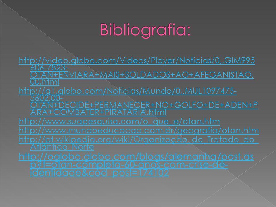 http://video.globo.com/Videos/Player/Noticias/0,,GIM995 606-7823- OTAN+ENVIARA+MAIS+SOLDADOS+AO+AFEGANISTAO, 00.html http://g1.globo.com/Noticias/Mund
