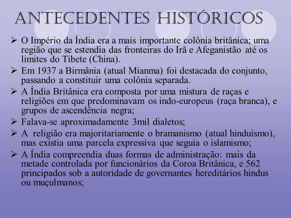 Mapa histórico do Império indiano José Jobson de A. Arruda- Atlas Histórico Básico. Ática.