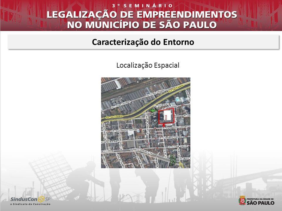 Localização Espacial Caracterização do Entorno