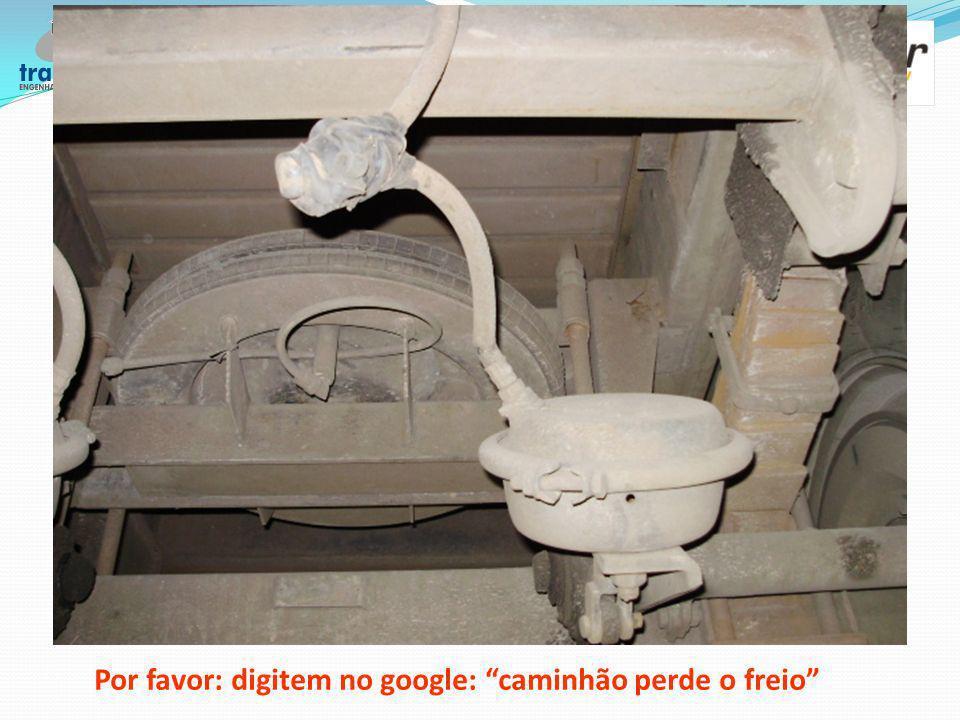Por favor: digitem no google: caminhão perde o freio