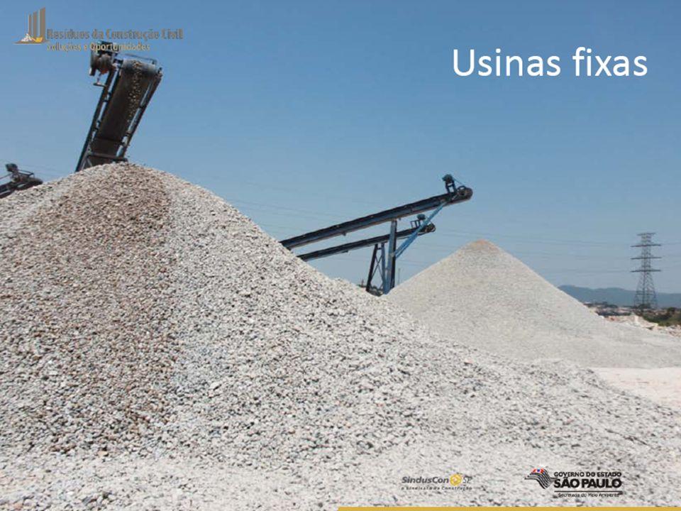 Potencial de Mercado Consumo mensal é de 5.400.000 ton de agregado mineral 30% utilizados em função não estrutural BRASIL – potencial de mercado 1.620.000 ton/mês SÃO PAULO - 520.000 t/mês = (32%) - menor que capacidade instalada MERCADO DE AGREGADO