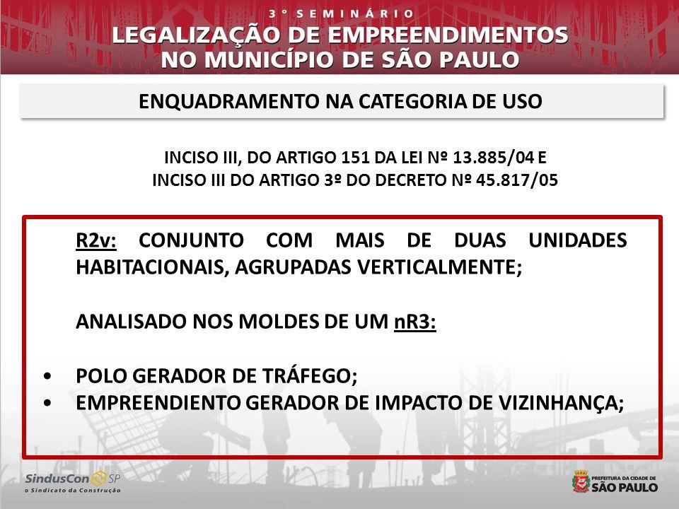 PÓLOS GERADORES DE TRÁFEGO nR com mais de 200 vagas.