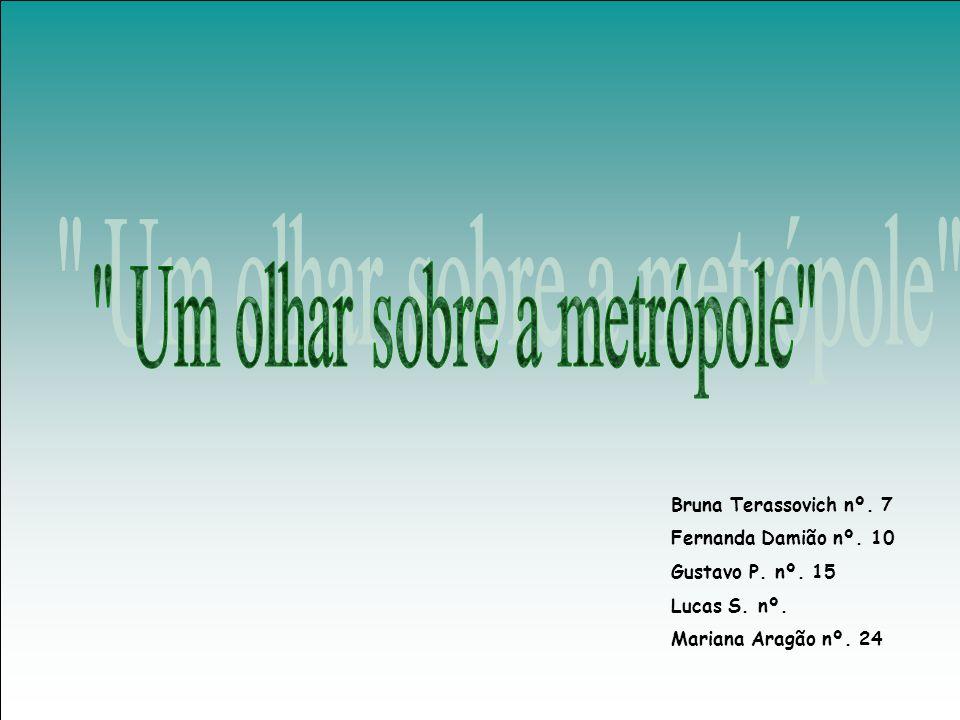 Bruna Terassovich nº. 7 Fernanda Damião nº. 10 Gustavo P. nº. 15 Lucas S. nº. Mariana Aragão nº. 24