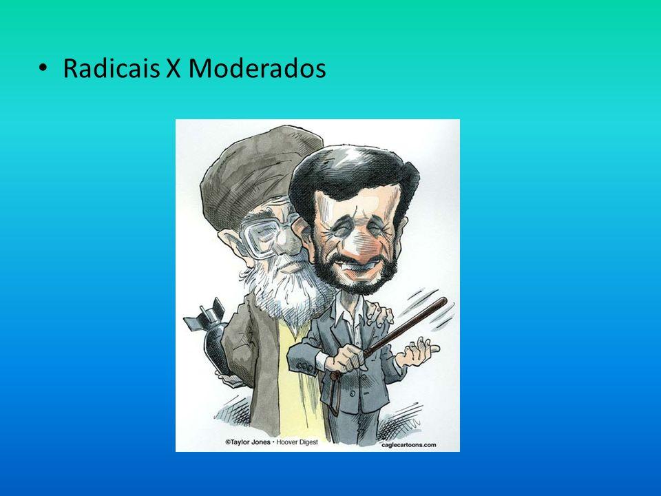 Radicais X Moderados