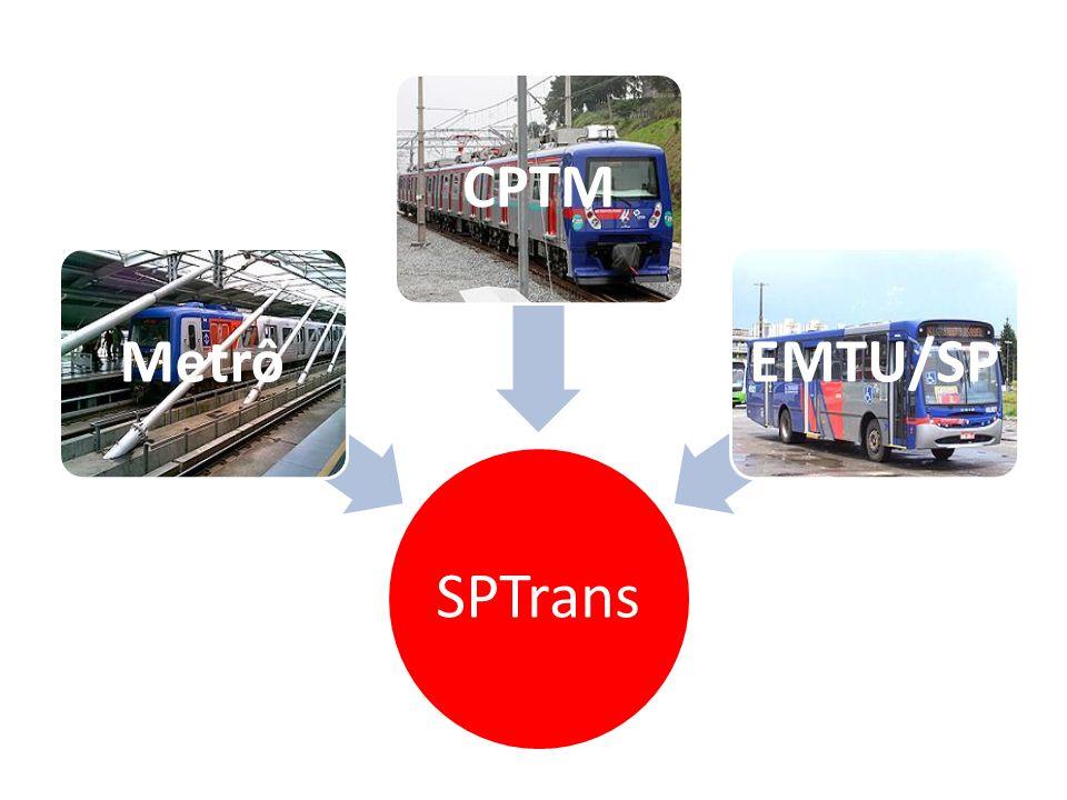SPTrans MetrôCPTMEMTU/SP