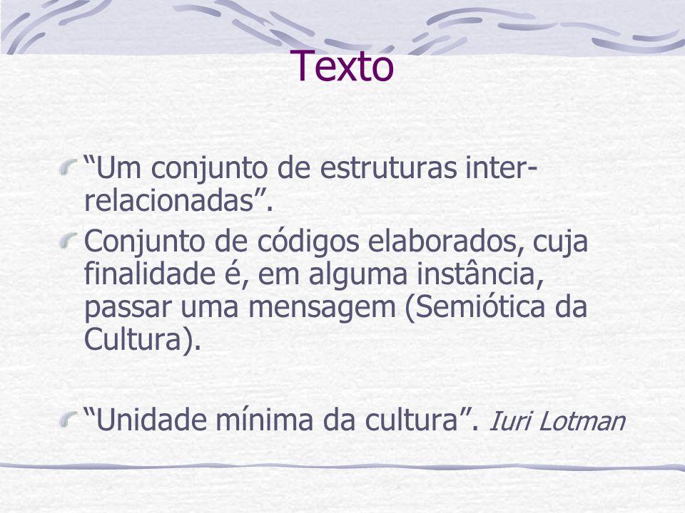 Exemplo de intersemiose Acho que a chuva ajuda a gente a se ver (Caetano Veloso).