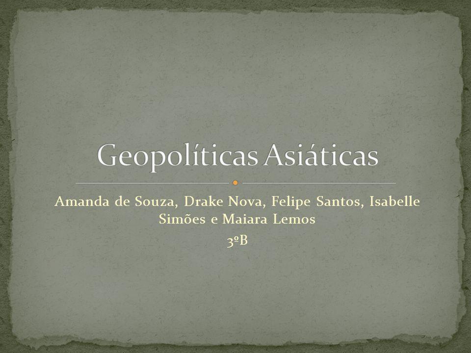 Amanda de Souza, Drake Nova, Felipe Santos, Isabelle Simões e Maiara Lemos 3ºB