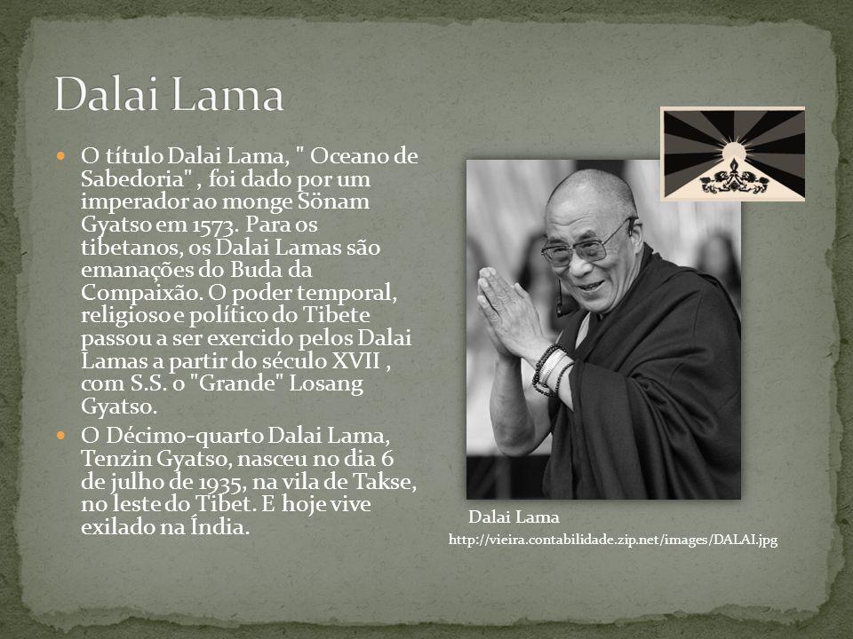 O título Dalai Lama,