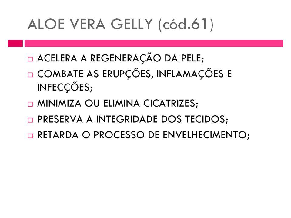 Gel de Aloe Vera Aloe Vera Gelly 100% natural. É Aloe Vera puro em gel. Nutriente e regenerador celular. Este elemento tem grandes propriedades e apli