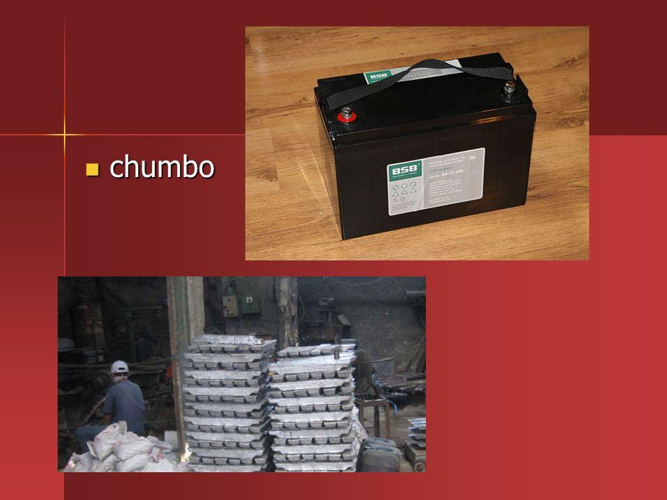 Não biodegradáveis: mercúrio Não biodegradáveis: mercúrio