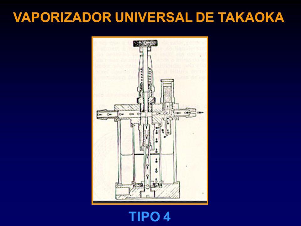 VAPORIZADOR UNIVERSAL DE TAKAOKA TIPO 4