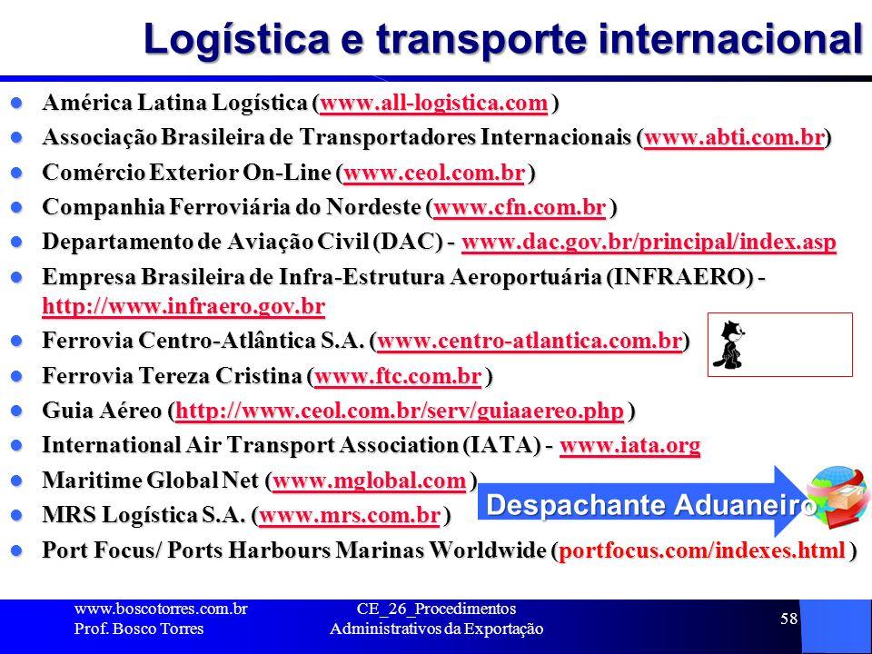 Logística e transporte internacional América Latina Logística (www.all-logistica.com ) América Latina Logística (www.all-logistica.com )www.all-logist