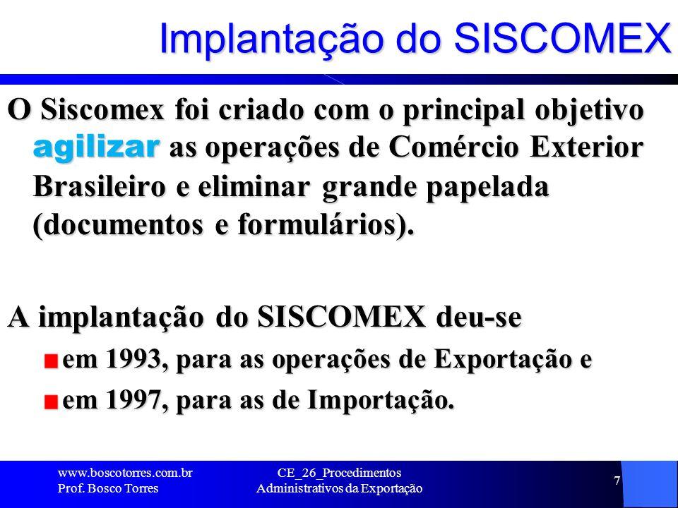 Embalagens de produtos brasileiros.www.boscotorres.com.br Prof.
