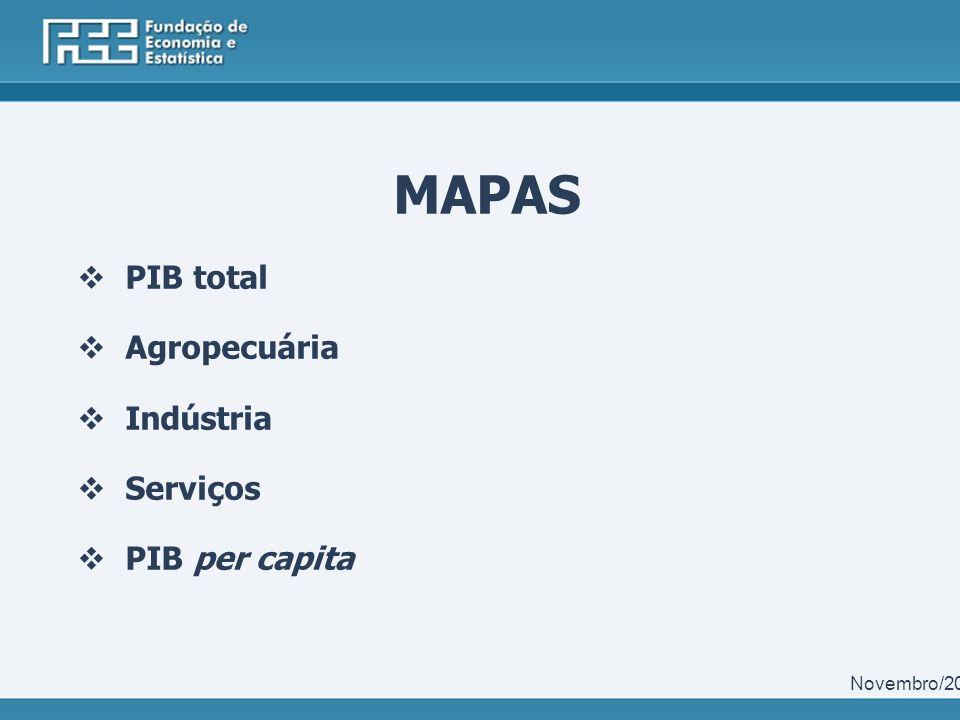 Participação dos 40 maiores PIBs municipais no PIB do Rio Grande do Sul - 2010