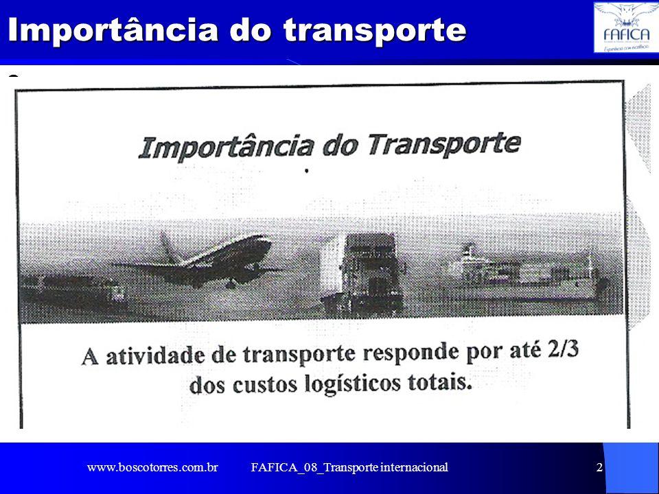 FAFICA_08_Transporte internacional2 Importância do transporte o www.boscotorres.com.br