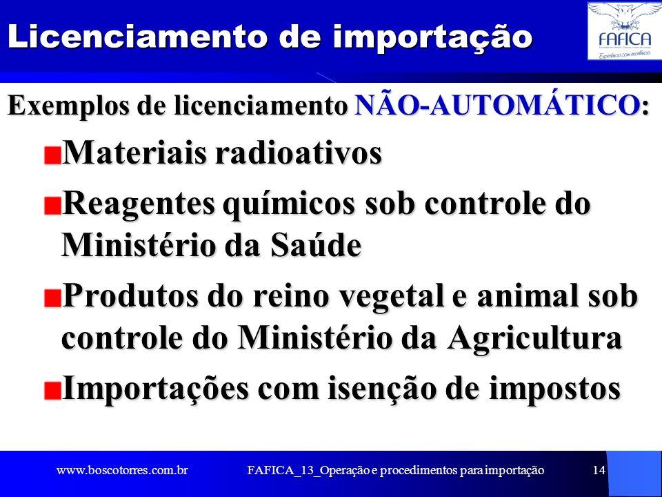 FAFICA_13_Operação e procedimentos para importação15 Recebimento da mercadoria importada A zona primária adota procedimentos de recebimento da carga na chegada ao Brasil, que podem diferir em razão do ponto de entrada (AEROPORTO, PORTO ou FRONTEIRA).