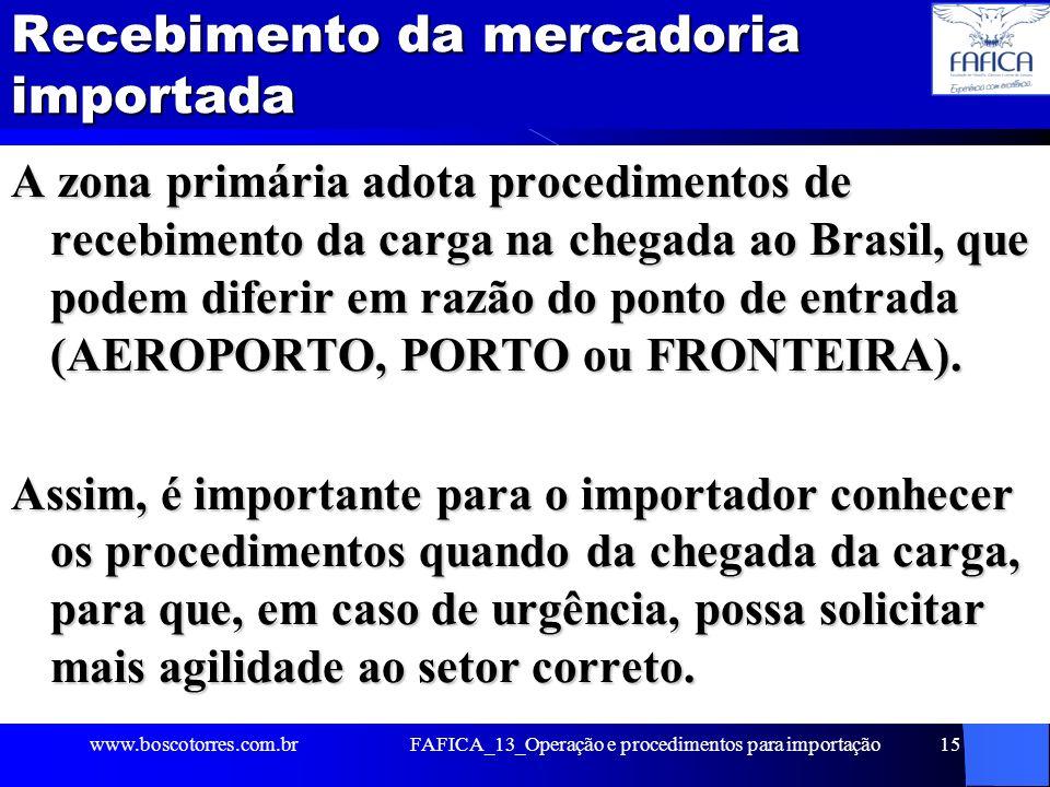 Burocracia na Importação: efeito tartaruga Tempo para liberação de mercadorias importadas no Brasil é superior ao de todos os principais concorrentes do país no comércio mundial (Veja, 23/04/06): Alemanha: 3,1 dias; Chile: 4,2 dias; China: 5,2 dias; BRASIL: 13 dias.