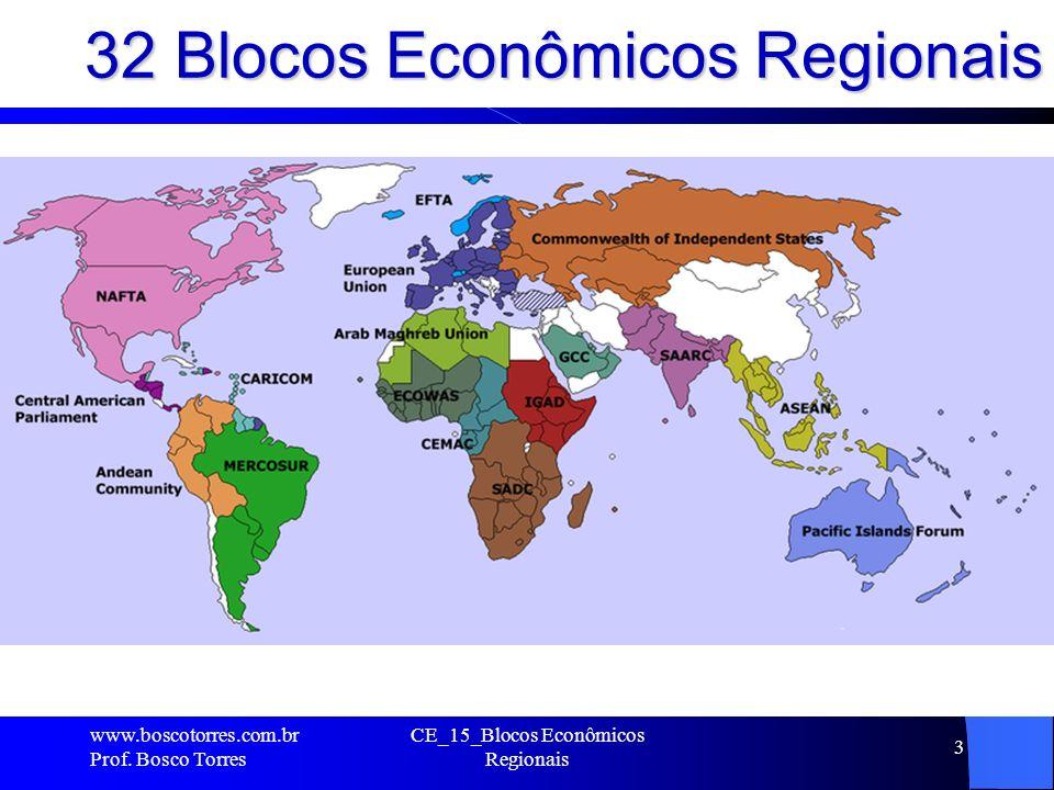 32 Blocos Econômicos Regionais.www.boscotorres.com.br Prof.