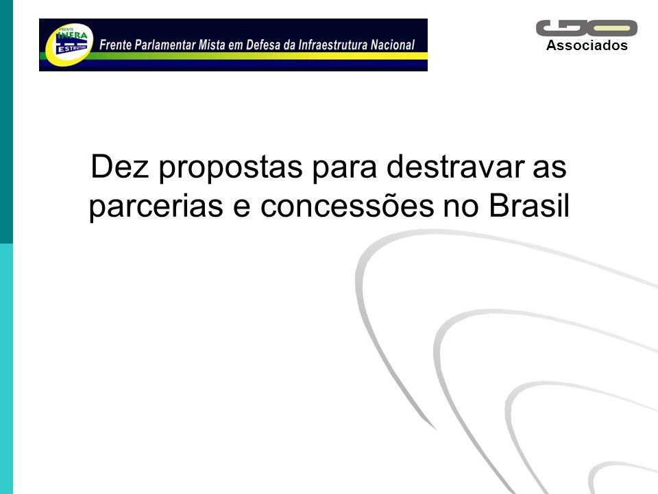 Associados Dez propostas para destravar as parcerias e concessões no Brasil