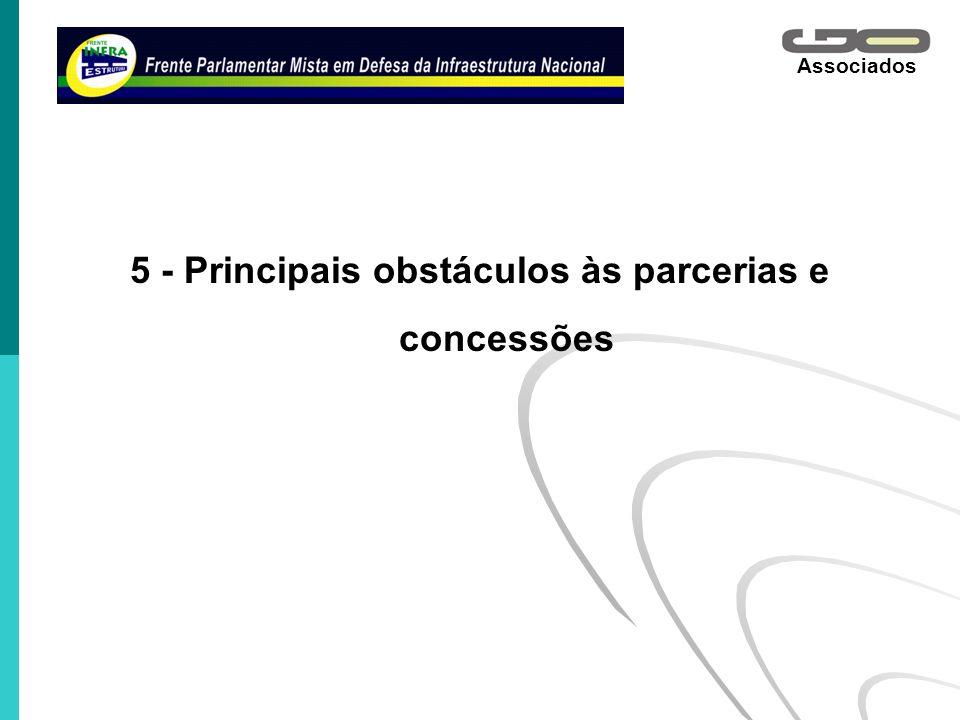 Associados 5 - Principais obstáculos às parcerias e concessões